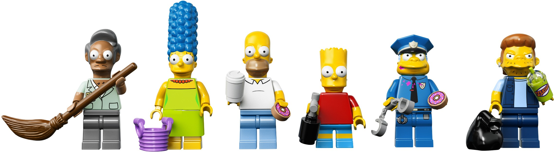 минифигурки Лего Симпсонов 2015 из набора 71016