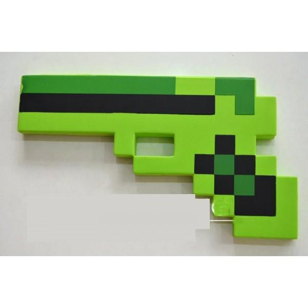 Пиксельный пистолет из игры майнкрафт - купить