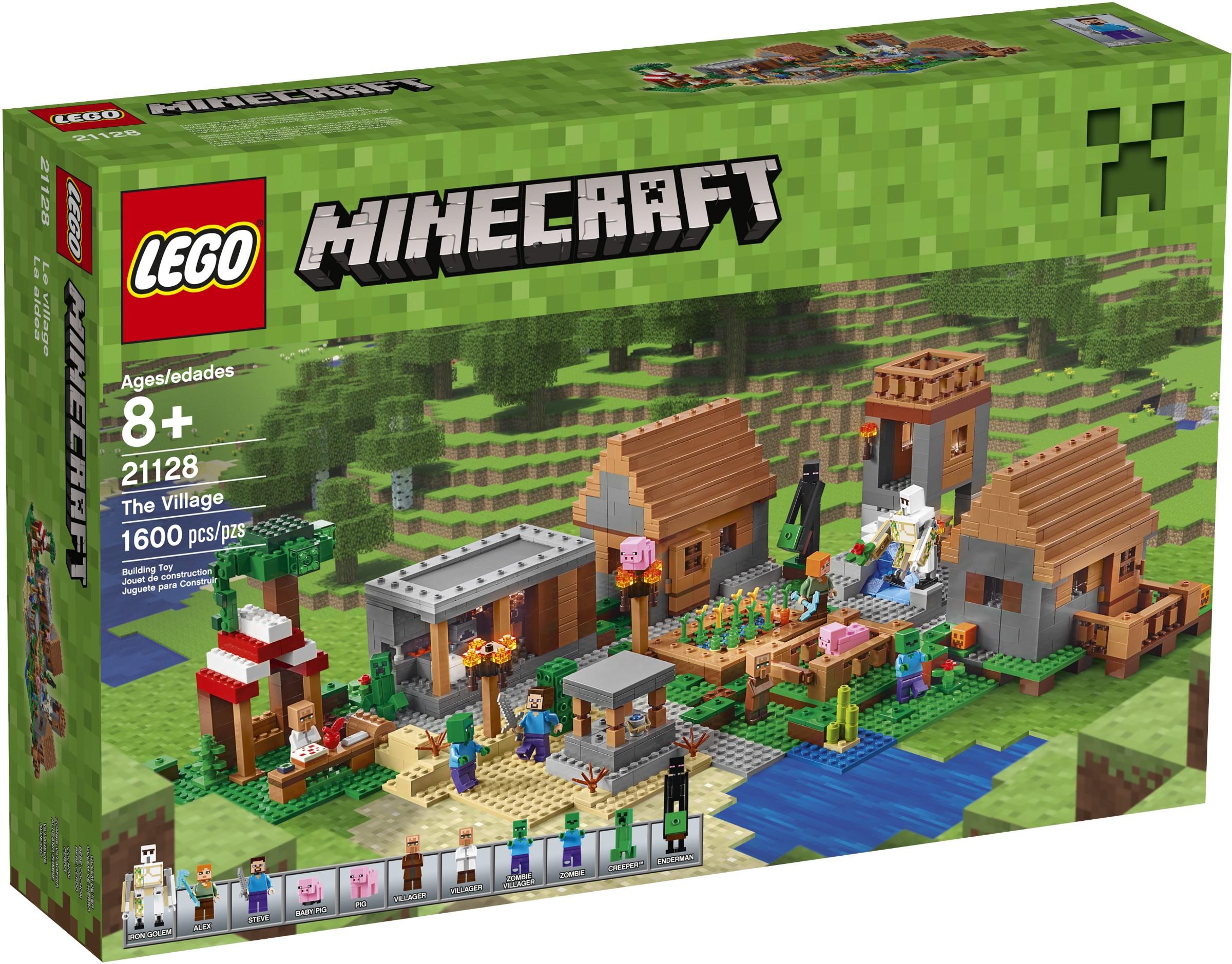 лего майнкрафт все наборы картинки