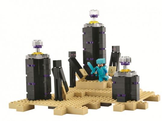 Купить набор лего майнкрафт 21117 Дракон Края