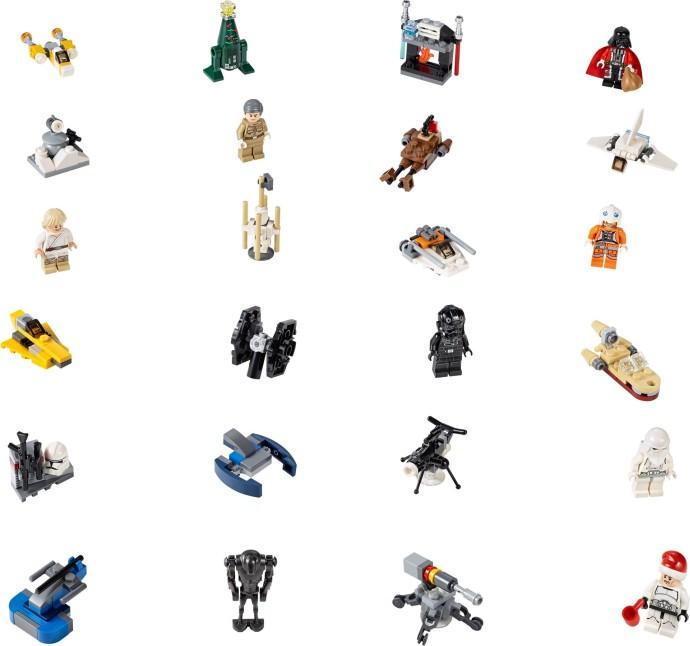 75056 / Lego Star Wars Advent Calendar / Лего Звездные войны ...