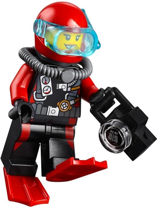 lego city 60092 глубоководная подводная лодка lego