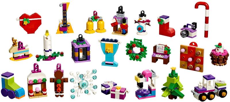 Рождественский календарь ЛЕГО Подружки 41353 Купить