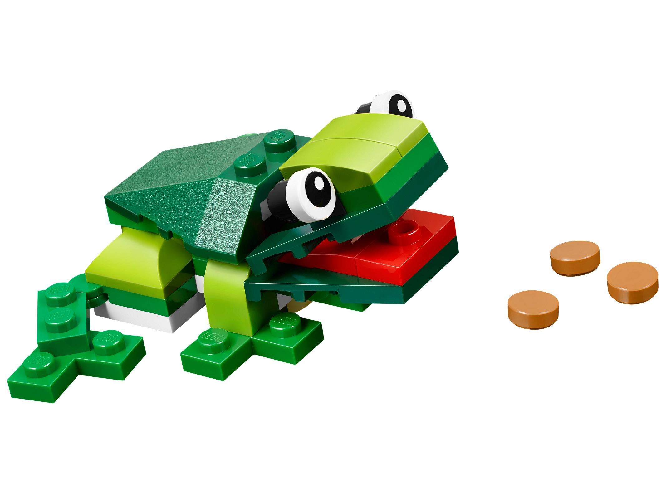 лего лягушка